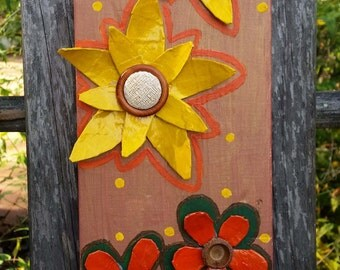 Folk Art Flowers - Autumn Flower Power