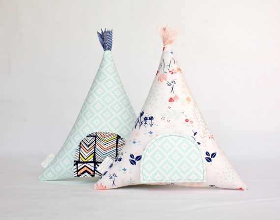 Tooth Fairy Teepee Pillow Toy Decorative Pillow Kids Gift