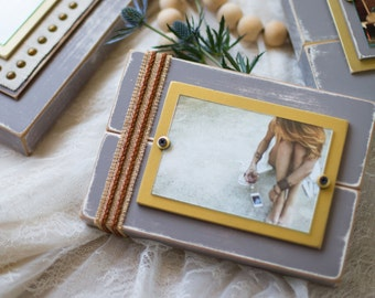 Distressed Picture Frame | Distressed Wood | Frame 4x6