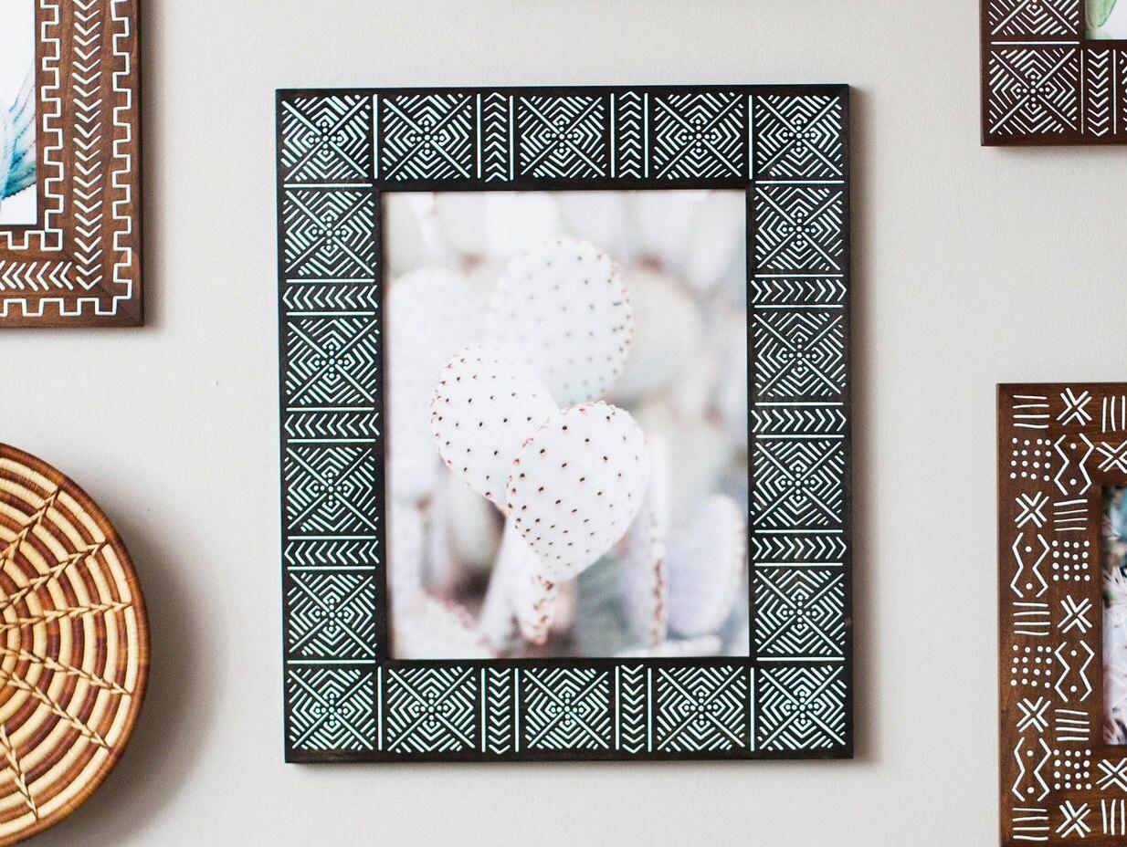 Diy poster frame mat