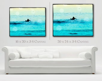 Surfing Canvas Wall Art, Surfer Photography Wall Decor, Retro Surfer Art, Beach DecorCanvas Art, Retro Surf Art, Large Canvas Wall Art