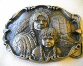 Vintage Native American Belt Buckle, Cheyenne Nation, American Indian Buckle, Artaffects, Native American Jewelry
