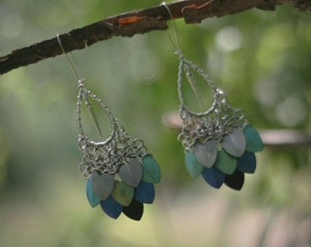 ANDROMEDA earrings - Terra colourway
