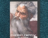 Offensive Atheist Card God Cherry Poppin Daddy Mature