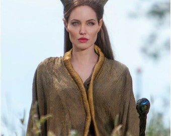 Maleficent Headdress- Wig and Horns