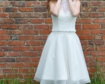 Jessica 50's style wedding dress