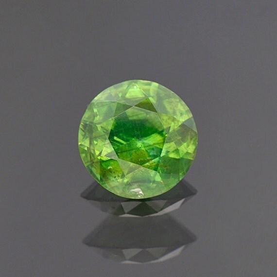 green zircon gemstone from russia 4 76 cts agl cert
