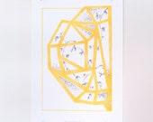Planthouse #2, Limited Edition Digital Print, 21cm x 29cm unframed.