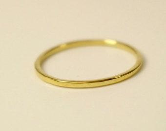 18K Gold Wedding Band, 18k square ring, 18k Wedding Band Ring, 18k yellow gold ring, 18k rose gold ring, 18k wedding ring,18k band ring