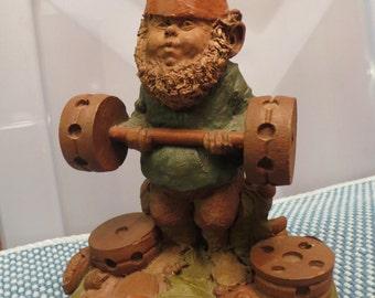 "Tom Clark Gnome Figurine Named ""Bubba"""