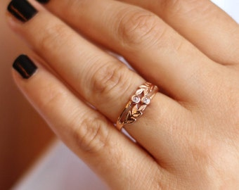 14K / 8K Vintage Style Gold Ring