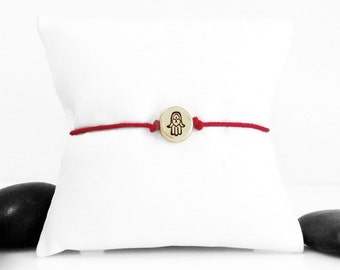 Hand bracelet, Hamsa Hand, Hamsa Charm, hand Jewelry, Hamsa Bracelet, Hand, Hamsa, Evil Eye, Red String, Bracelet, Kabbalah, b247cB