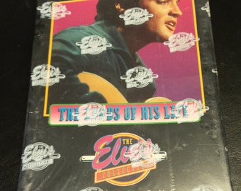 "Vintage 1992 Unopened The Elvis Collection Series 1 ""The Cards of His Life"" Box"