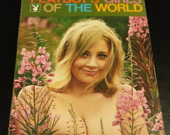 Vintage Playboy's Girls of the World by Playboy Press 1971