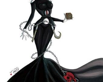 Helen Raiser Fashion Villain by Dirty Teacup Designs