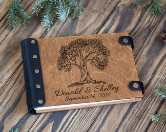 Wedding Guest Book, Guestbook, Customized, Family Tree, Custom Guest Book