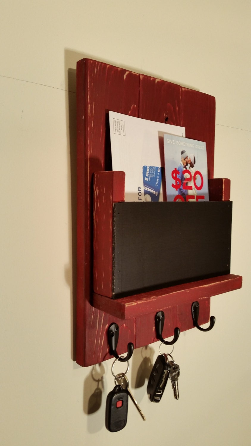 Mail Holder Mail Sorter Mail And Key Holder By LaneofLenore