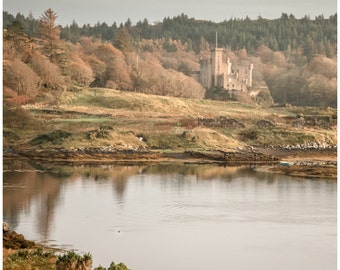 Dunvegan Castle Photography > Castle Print > Castle Fine Art > Castle Wall Art > Castle Home Decor > Scotland Photography > Isle of Skye
