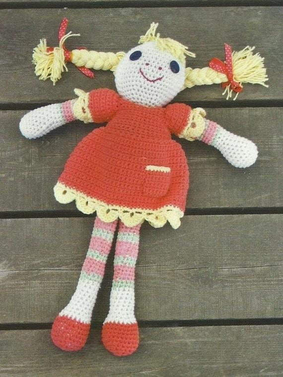 Star Wars Crochet Dolls Free Pattern : Crochet Rag Doll PDF Crochet Pattern