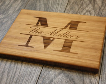 Personalized Cutting Board, Engagement Gift, Gift for Couple, Wedding Gift, Custom Cutting Board, Engraved Cutting Board, Cutting Board