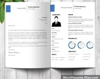 portfolio template word