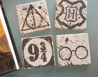 Harry Potter Stone Coasters