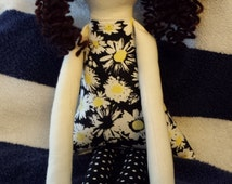 Curly Sue - yarn hair doll