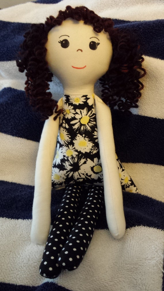 how to make curly yarn doll hair