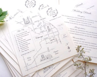 THE Classic Wedding Map