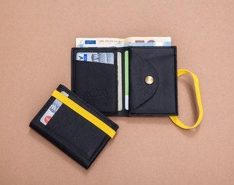 Men's Leather Wallet, Minimalist Wallet , Mens Wallet, Black Leather Wallet, Bifold Wallet, leather wallets