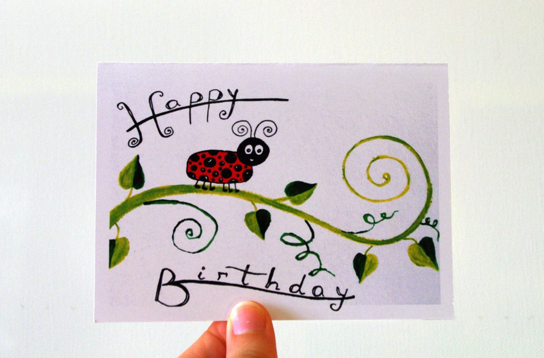 Birthday card Children birthday card kids cards baby birthday – Birthday Card for Child