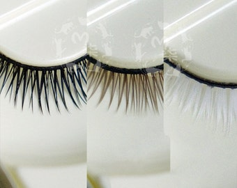 Eyelash lashes BJD sd msd yosd black brown white
