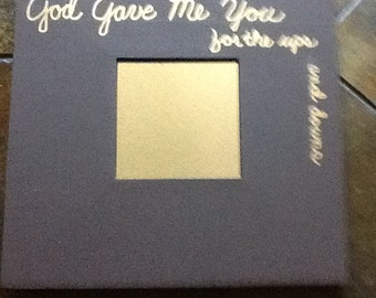 Mirror Decorative God Gave Me You-Inspirationational Wooden Wall Decor