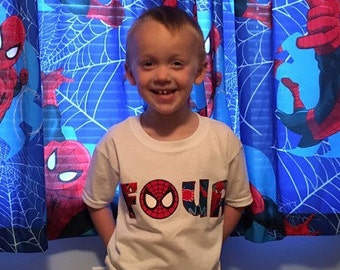 Spiderman shirt, spiderman birthday shirt, spiderman party, spiderman baby, spiderman outfit