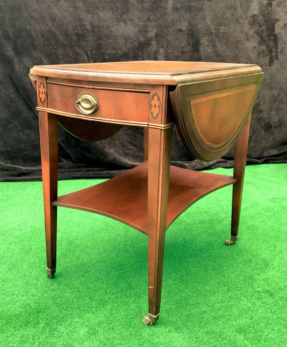 Like This Item With Antique Drop Leaf Table