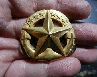 Vintage US Navy Command at Sea Gold Filled Badge