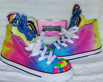 My Little Pony shoes, Children's Converse, Custom Converse, Bling Converse, Custom Chucks, Kids Custom Shoes, Baby Converse