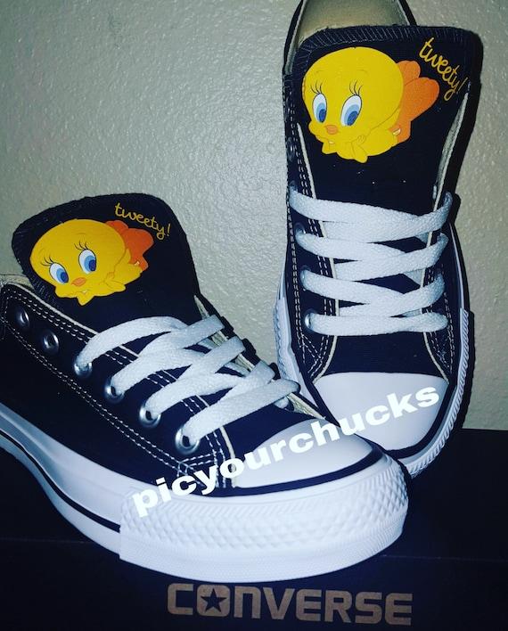 Tweety Bird Shoes Converse