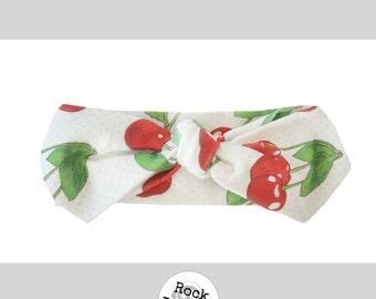 Cherry Bomb Knot Headband