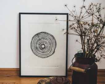 Woodprint Arukarie #1