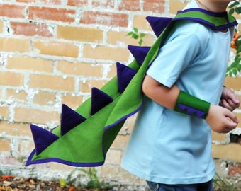 Dinosaur Cape - Dragon Cape - Dinosaur Dress Up - Dinosaur Costume - Dragon Costume - Kids Fancy Dress - Dinosaur Party - Any Colour