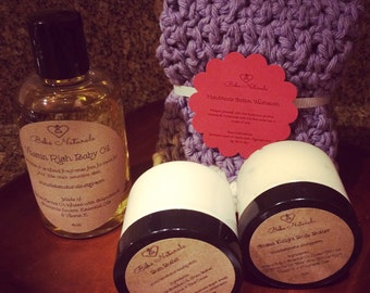 All Natural Baby Bath & Body Essentials