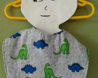 Dinosaur Toddler Bib