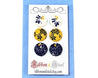 The Cheddar & Blueberry Earring Set