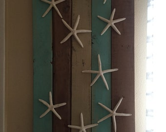 Nautical Pallet Art Wall Decor Set
