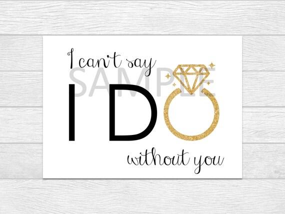 Will You Be My Bridesmaid, Bridesmaid Cards, Bridesmaid Proposal, Bridal Party Card, Will You Be My Maid Of Honor, Bridesmaid Invite wedding