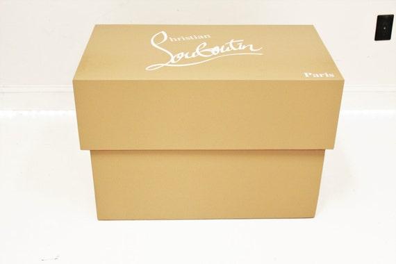 christian louboutin shoes box
