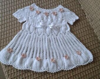 Flower girl dress, crochet,lace for wedding day