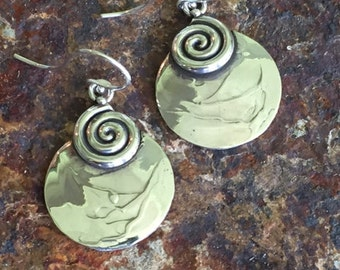 Sterling Silver Earrings Hand Crafted by Lulu