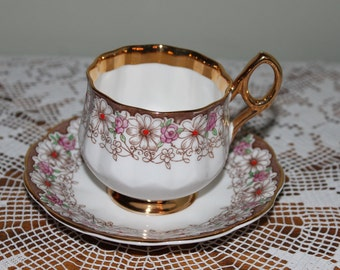Rosina Bone China Teacup   Made in England Tea Cup